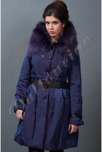 Зимняя куртка с юбкой купить