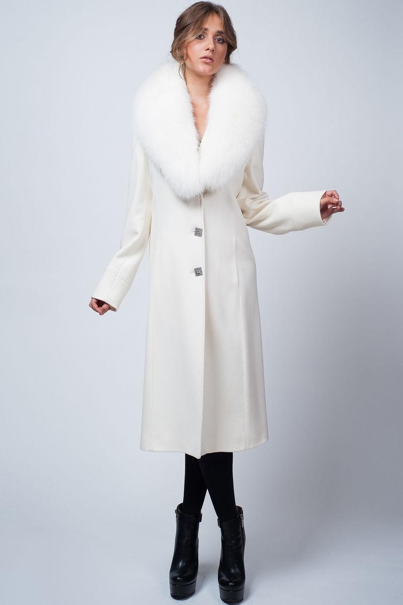 Ня картинки - белое пальто с длинными перчатками - Няшки