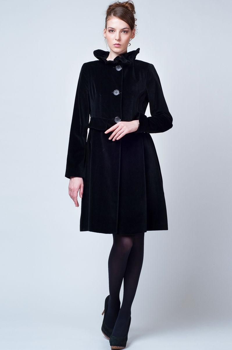 Бархатное пальто - Купить в Москве недорого: цена, фото, описание